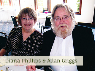 Your Hosts Diana Phillips and Allan Griggs